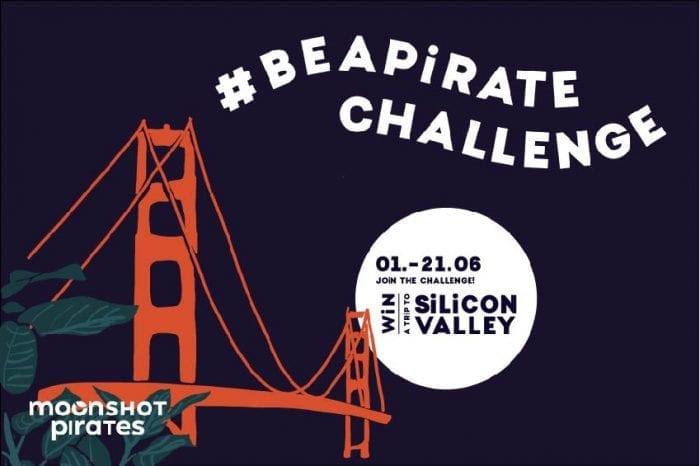 #beapirate challenge moonshot pirates